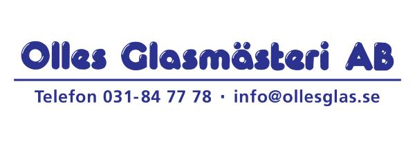 Olles glasmästeri AB Logotyp